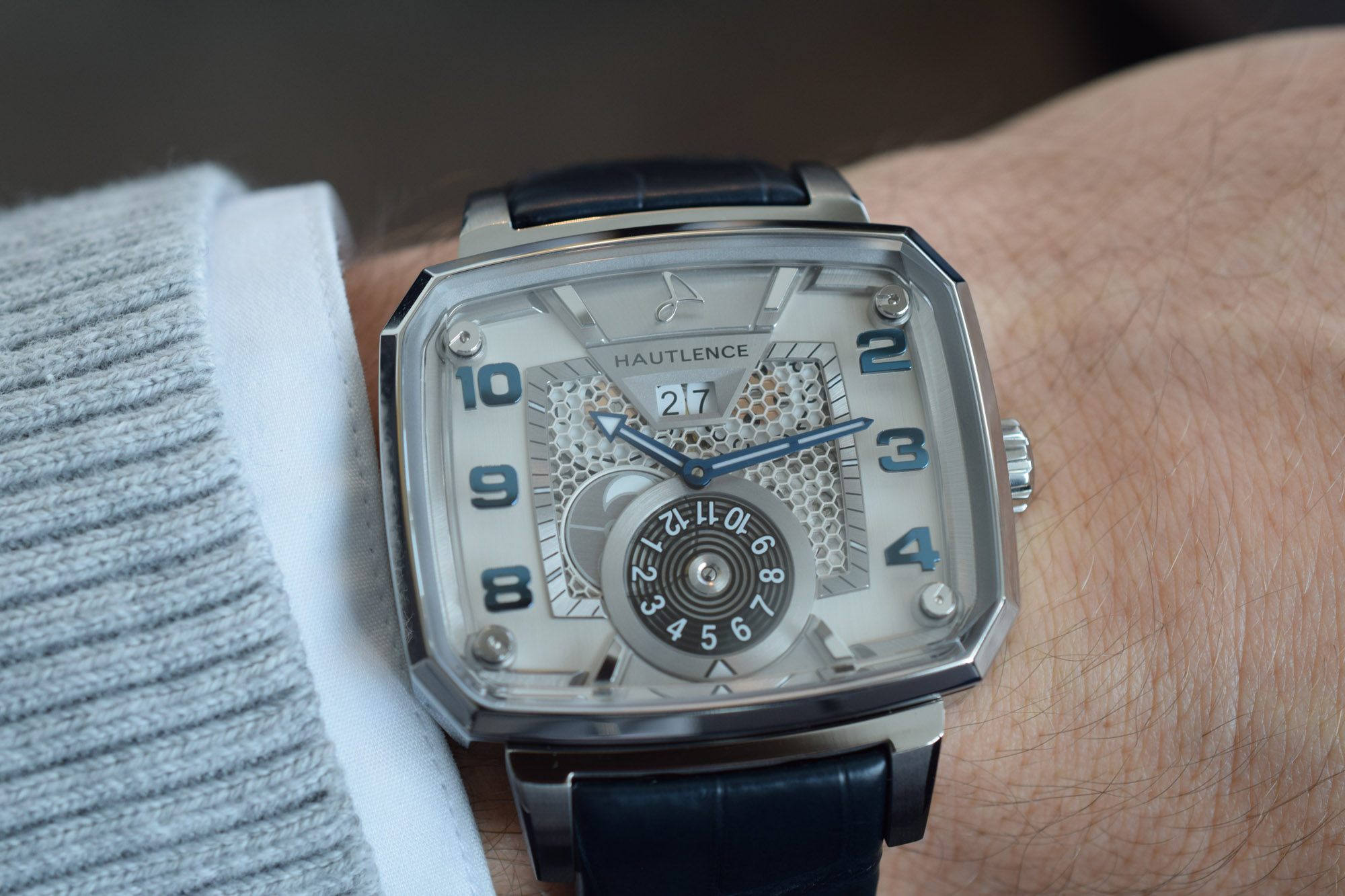 Hautlence Destination 02 Hands-On Review - Wristshot