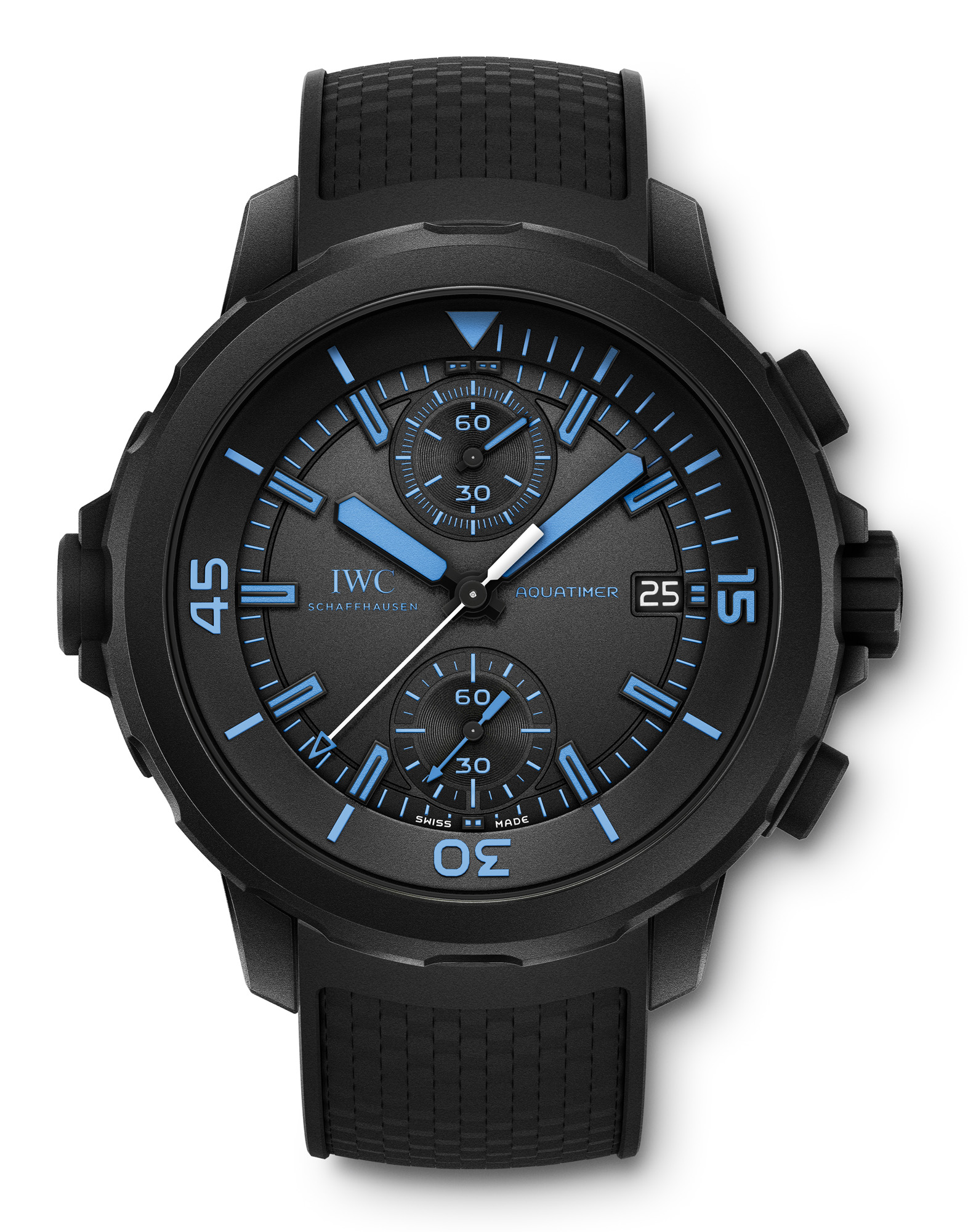 "IWC Aquatimer Chronograph Edition ""50 years Science for Galapagos Islands"""