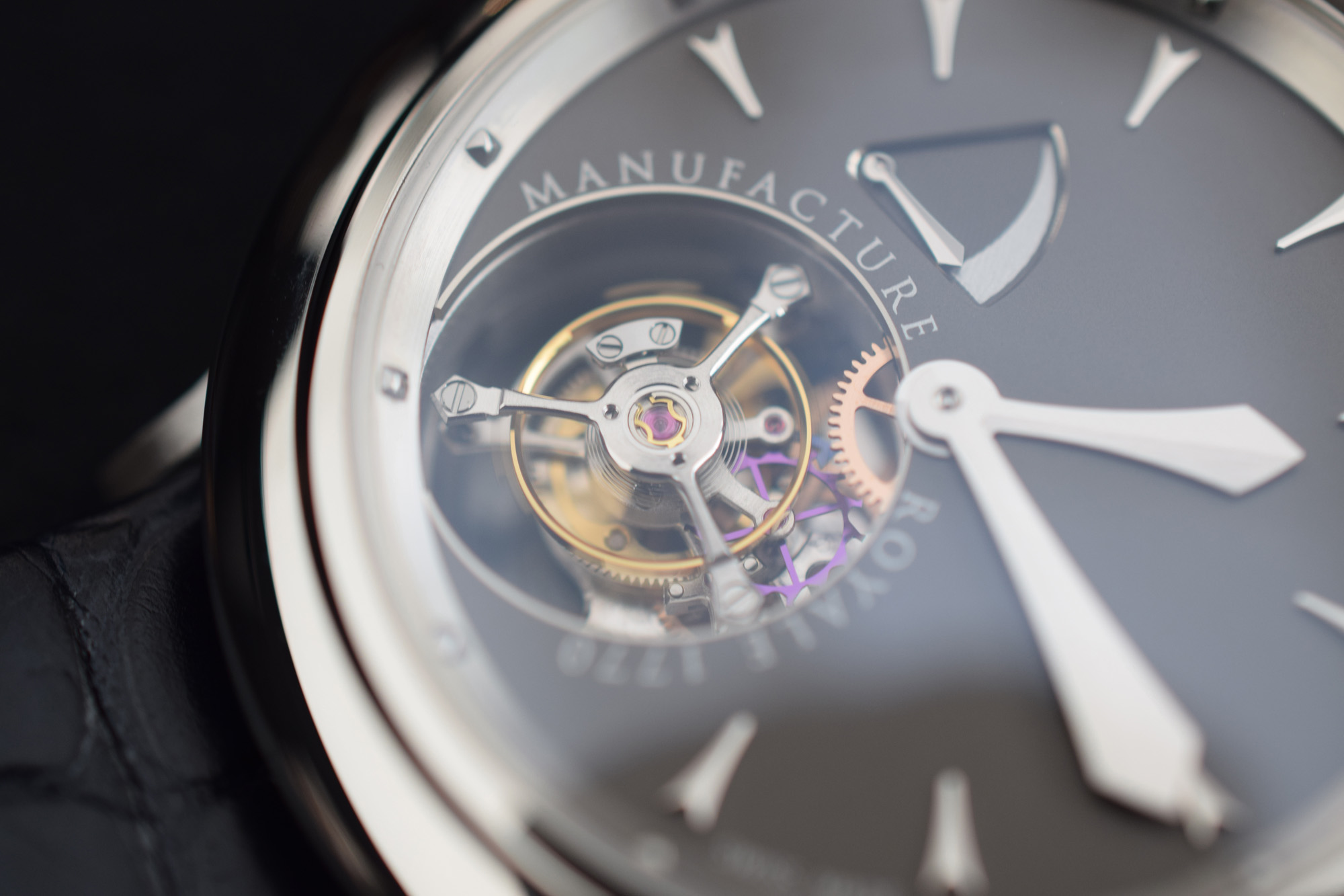 Manufacture Royale 1770 Collection - Flying Tourbillon