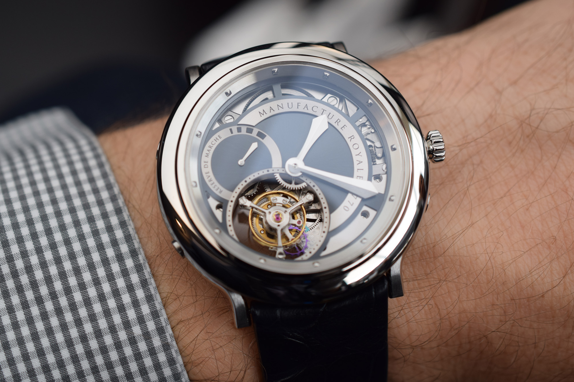 Manufacture Royale 1770 Collection - Wristshot