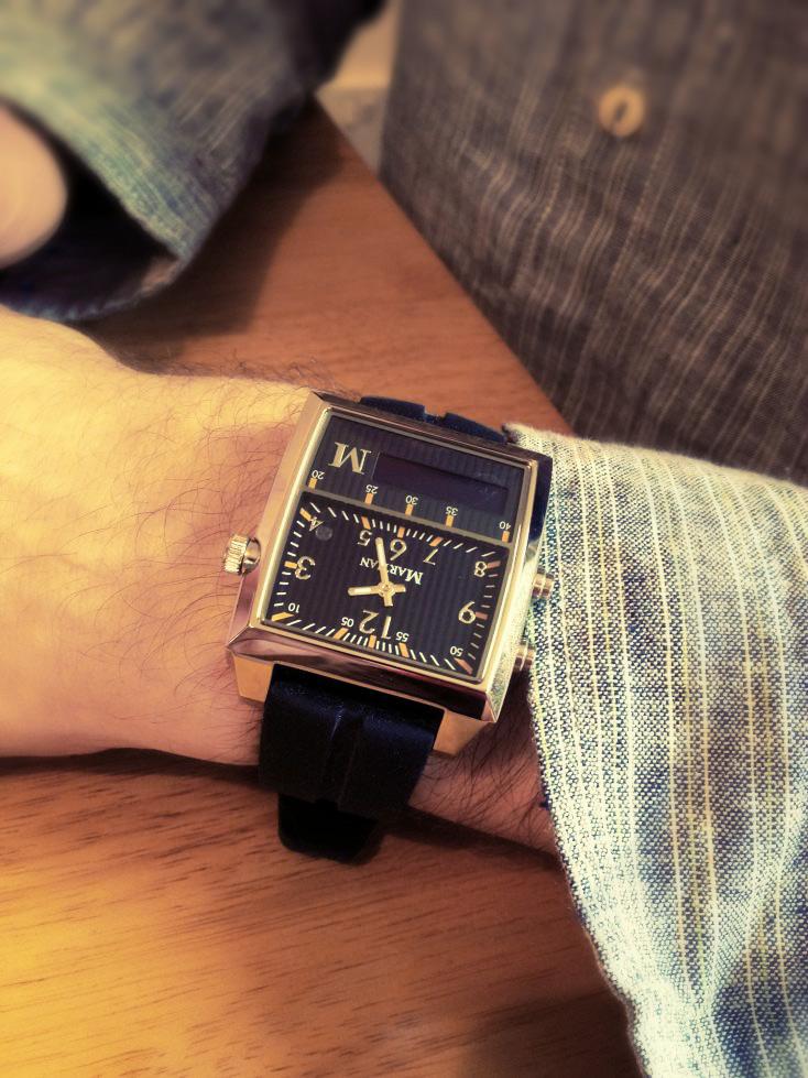 Martian Passport Smartwatch - Wristshot