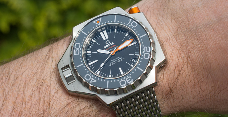 Omega Seamaster PloProf 1200M Hands-On Review