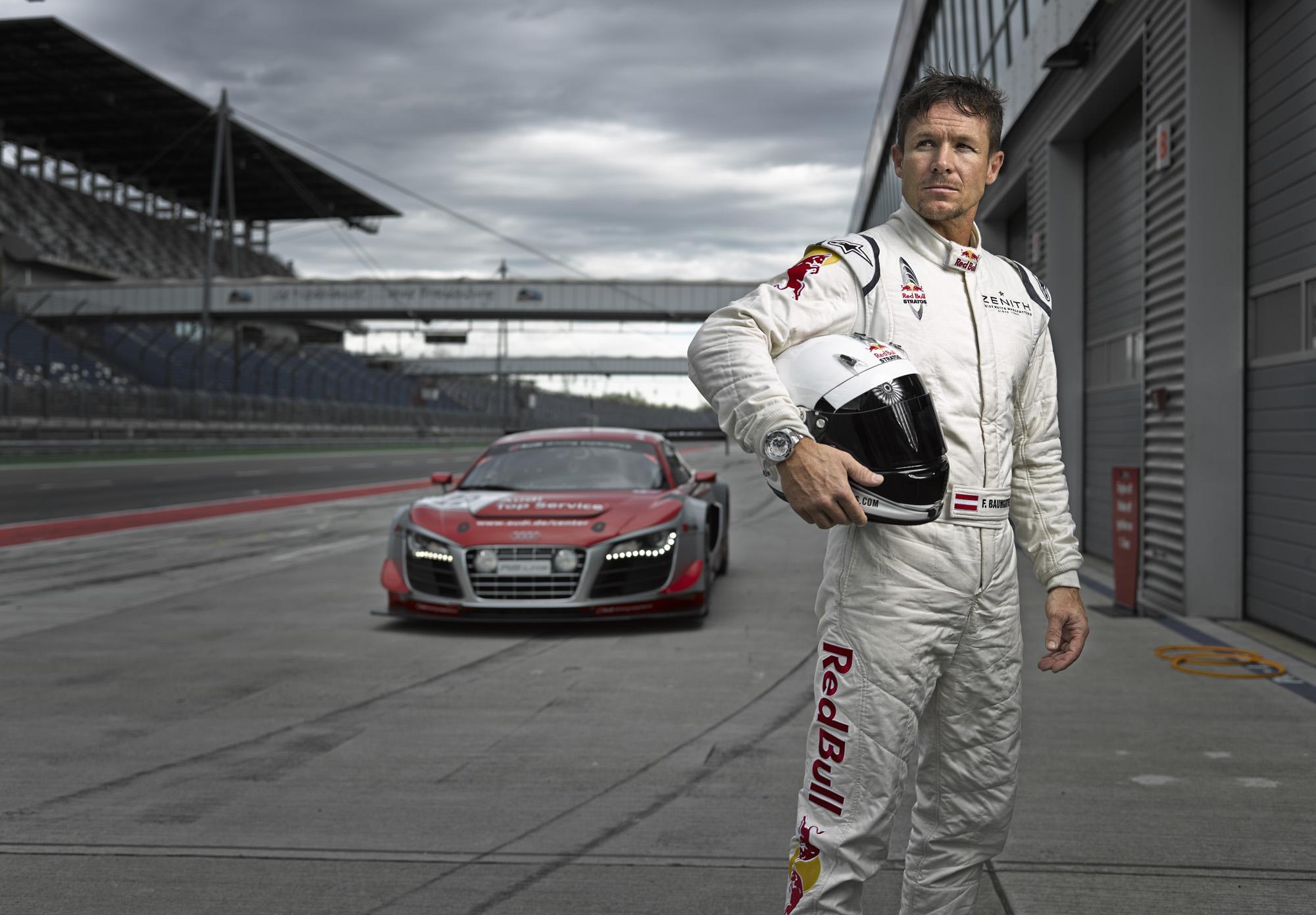 Zenith's Ambassador - Felix Baumgartner to drive Audi R8 LMS at Nürburgring 24 Hours