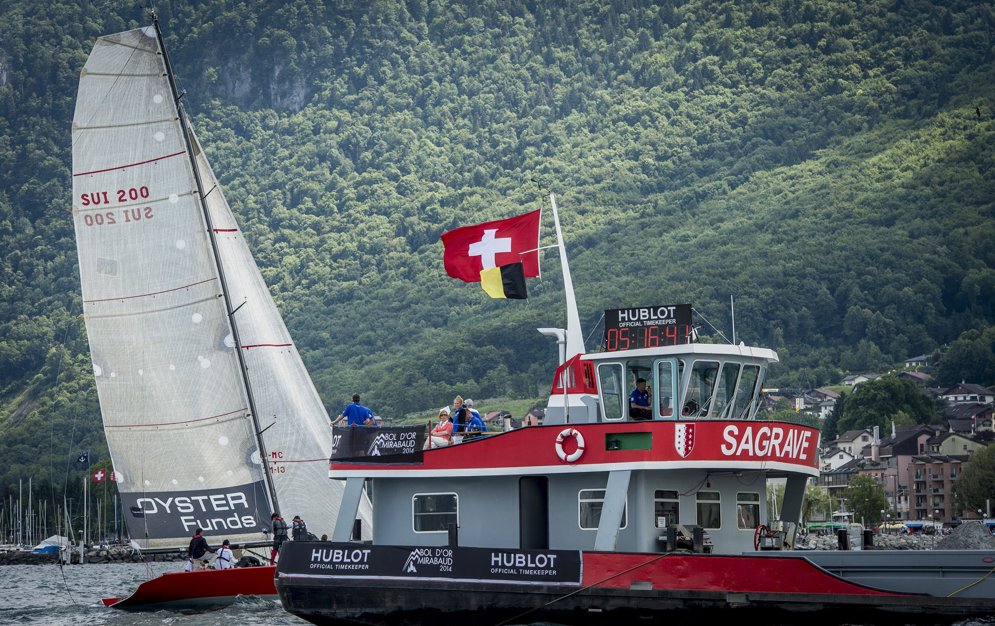 76th annual Bol d'Or Mirabaud regatta
