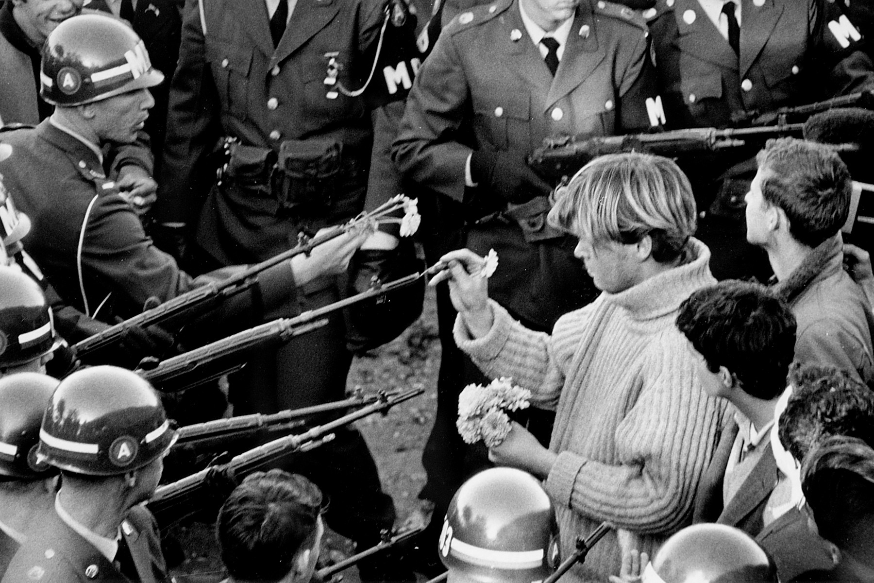 Student Protest outside the Pentagon October 1967