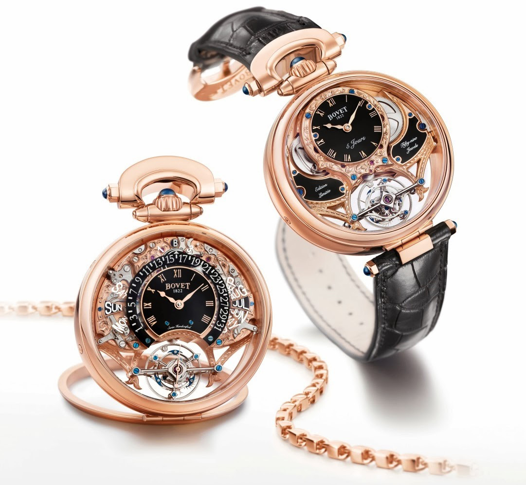 Bovet Amadeo Fleurier Tourbillon Virtuoso III - Collection