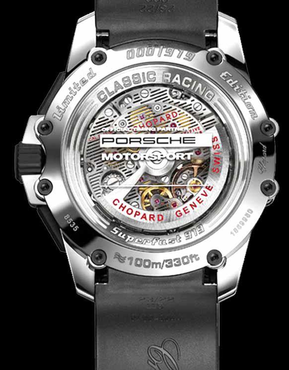 Chopard Superfast Chrono Porsche 919 - Caseback