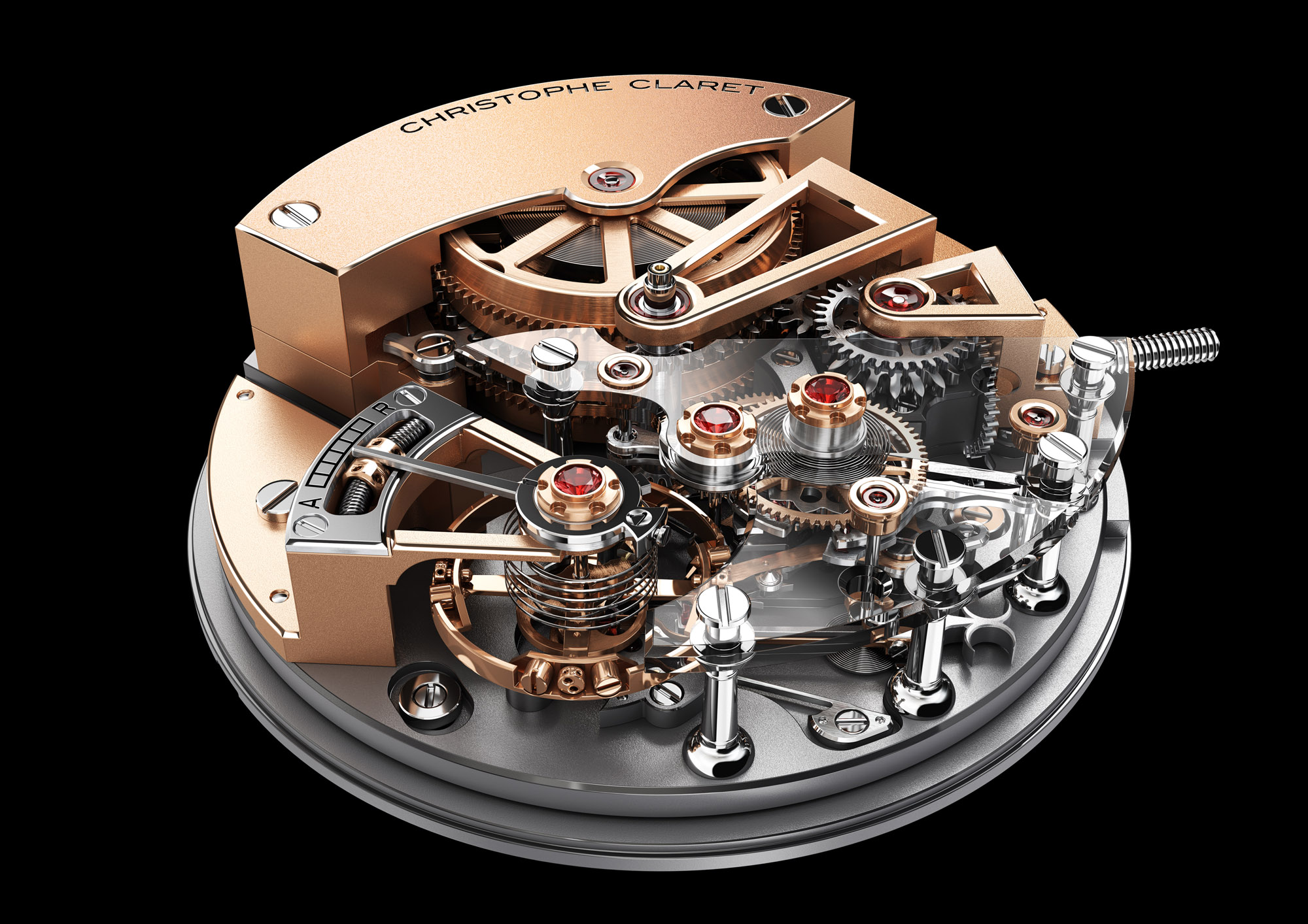 Christophe Claret Maestoso - Movement