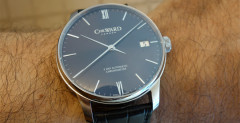Christopher Ward C9 Harrison 5 Day Automatic on the wrist