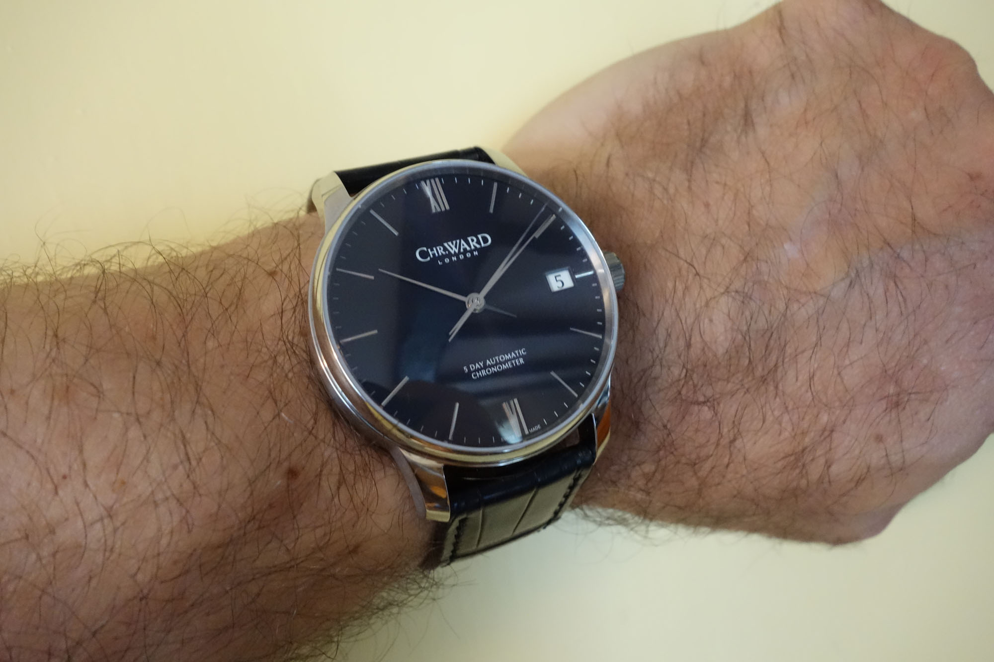 Christopher Ward C9 Harrison 5 Day Automatic - Wristshot