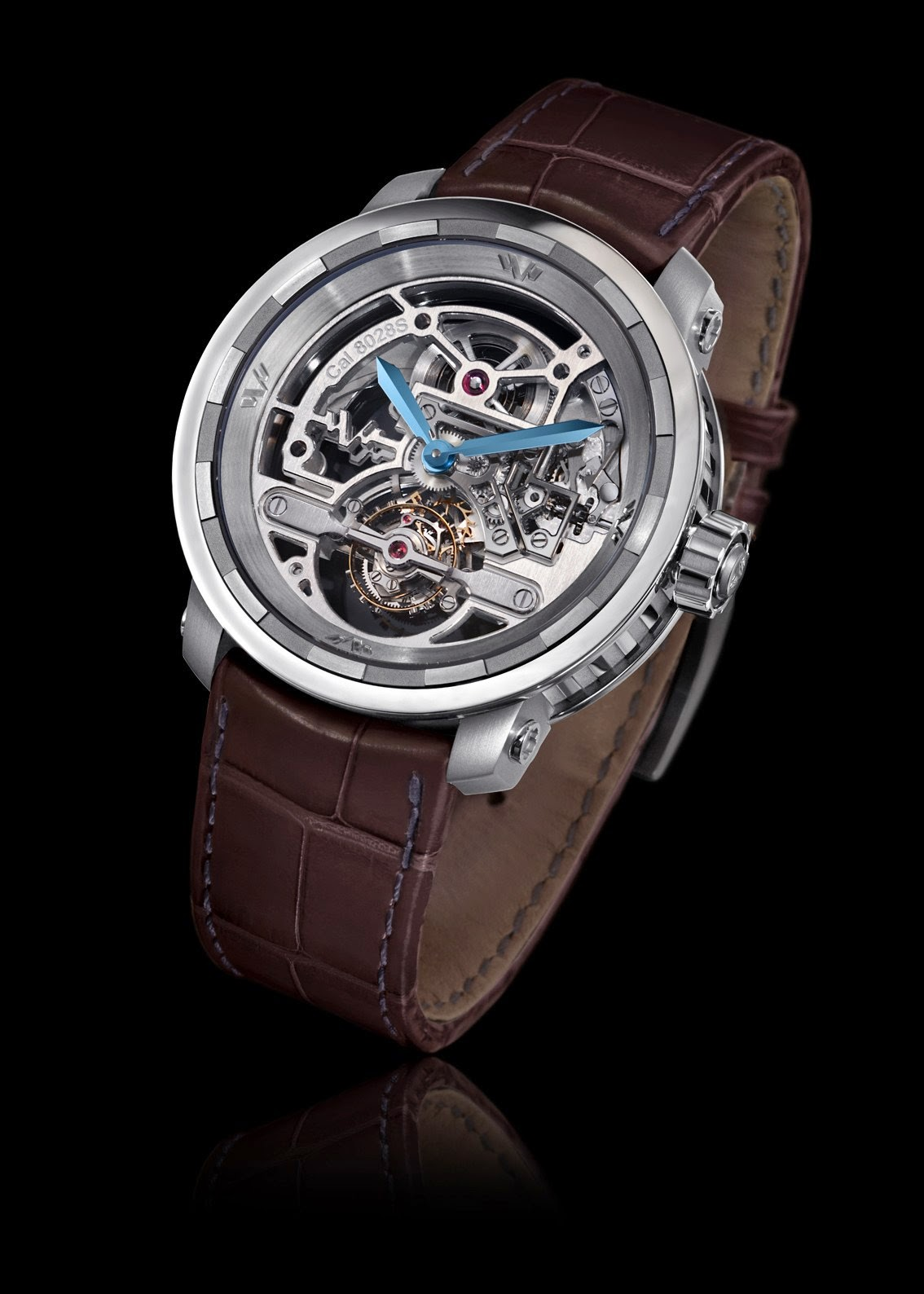 DeWitt Twenty-8-Eight Skeleton Tourbillon - Titanium