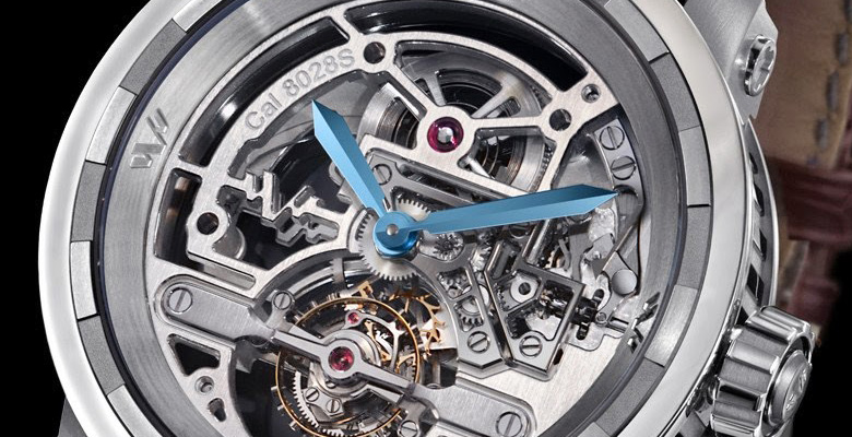 DeWitt Twenty-8-Eight Skeleton Tourbillon