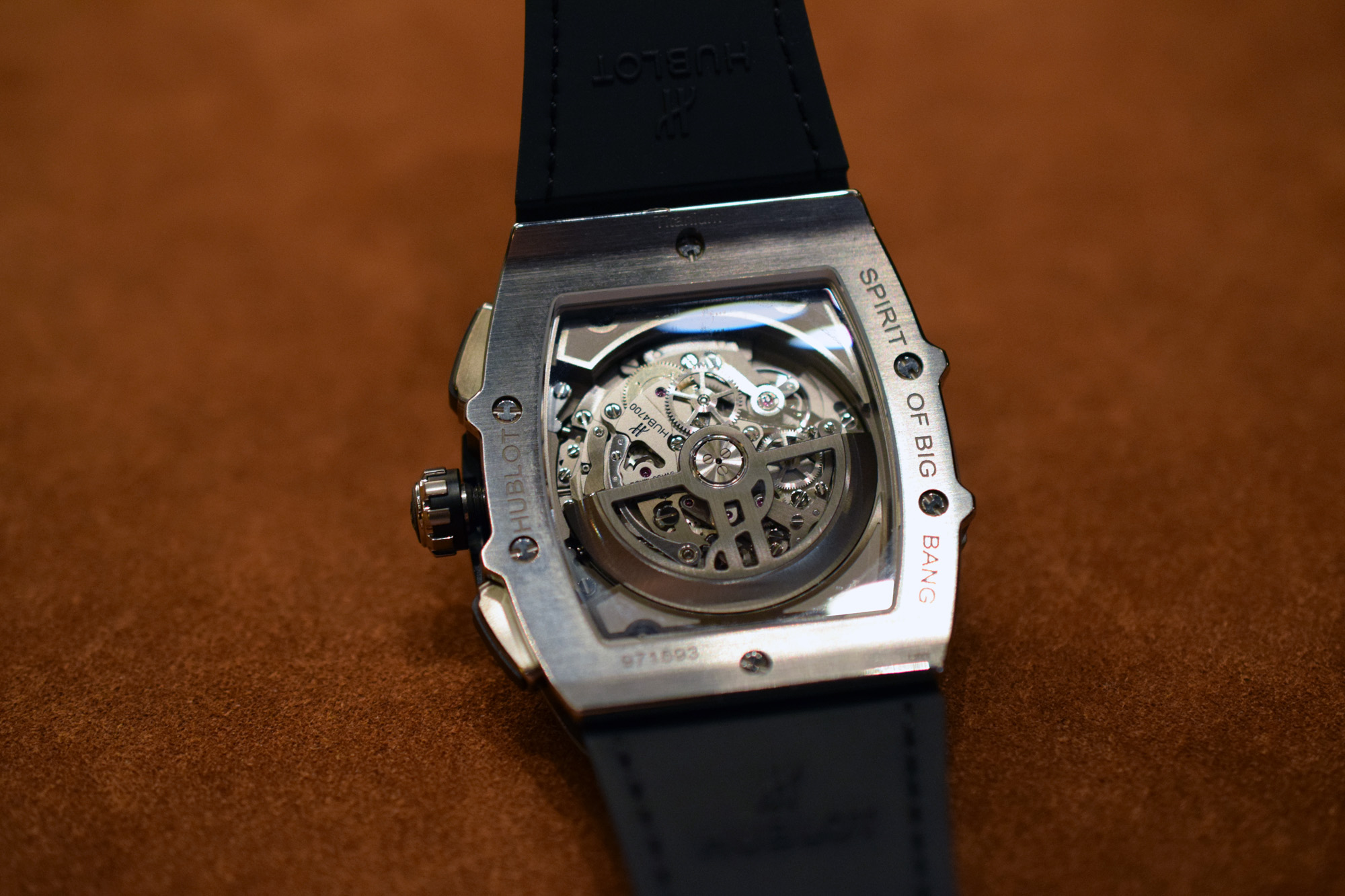 Hublot Spirit of Big Bang - Caseback