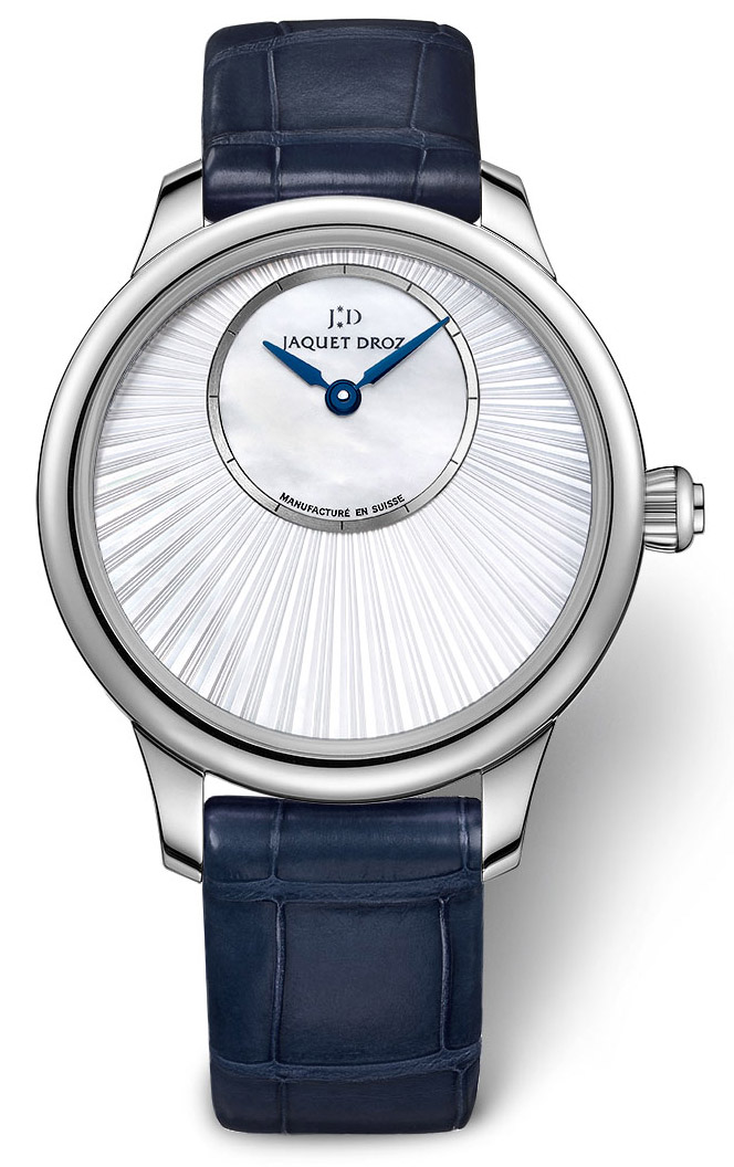 Jaquet Droz Petite Heure Minute 35mm Pearl