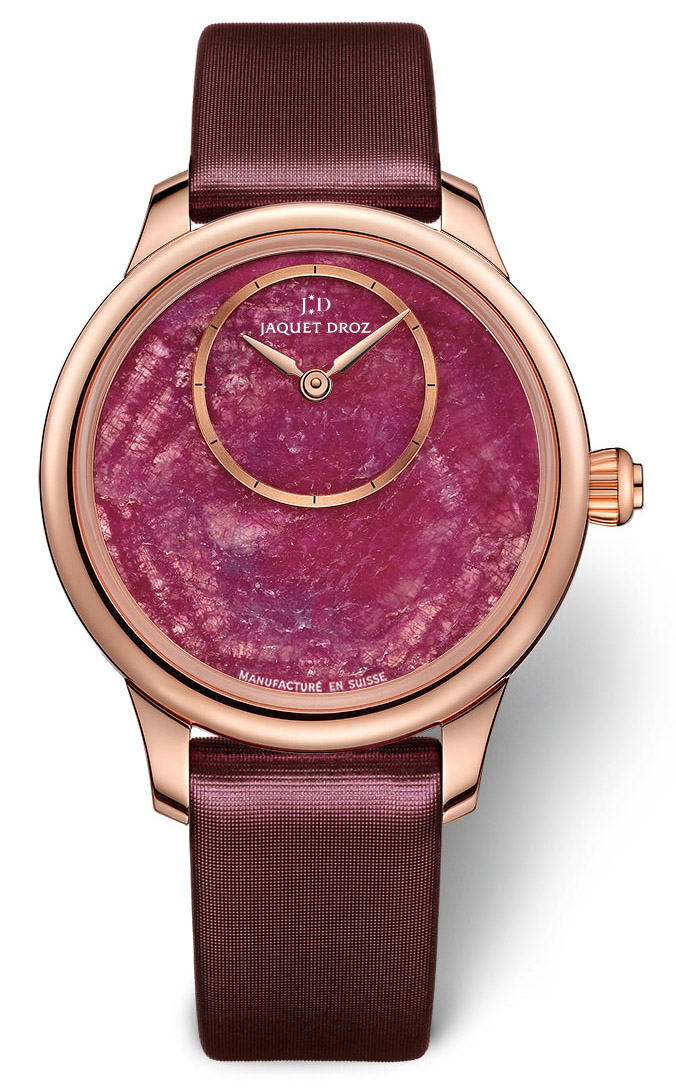 Jaquet Droz Petite Heure Minute 35mm Ruby Heart