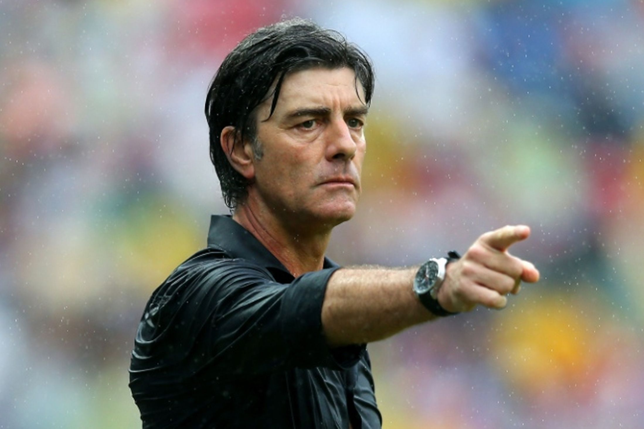 Joachim Loew on the Field with the IWC on the Wrist
