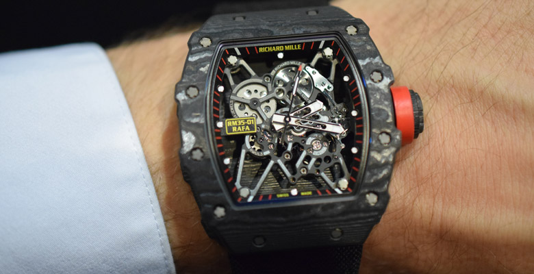 Richard Mille RM 35-01 'Baby Nadal' Hands-On