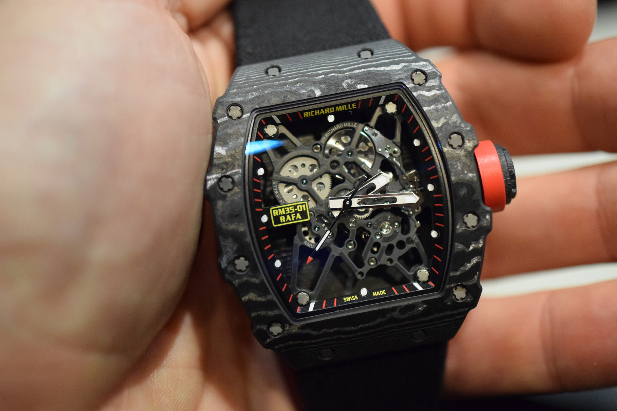 Richard Mille RM 35-01 'Baby Nadal' - Hands-On
