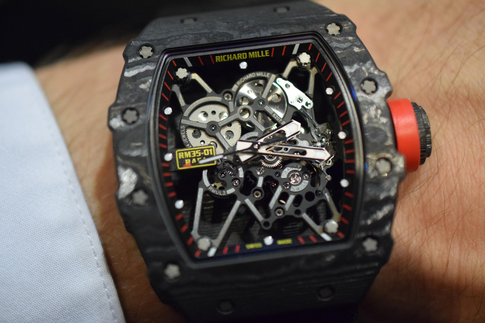 Richard Mille RM 35-01 'Baby Nadal' - Wristshot
