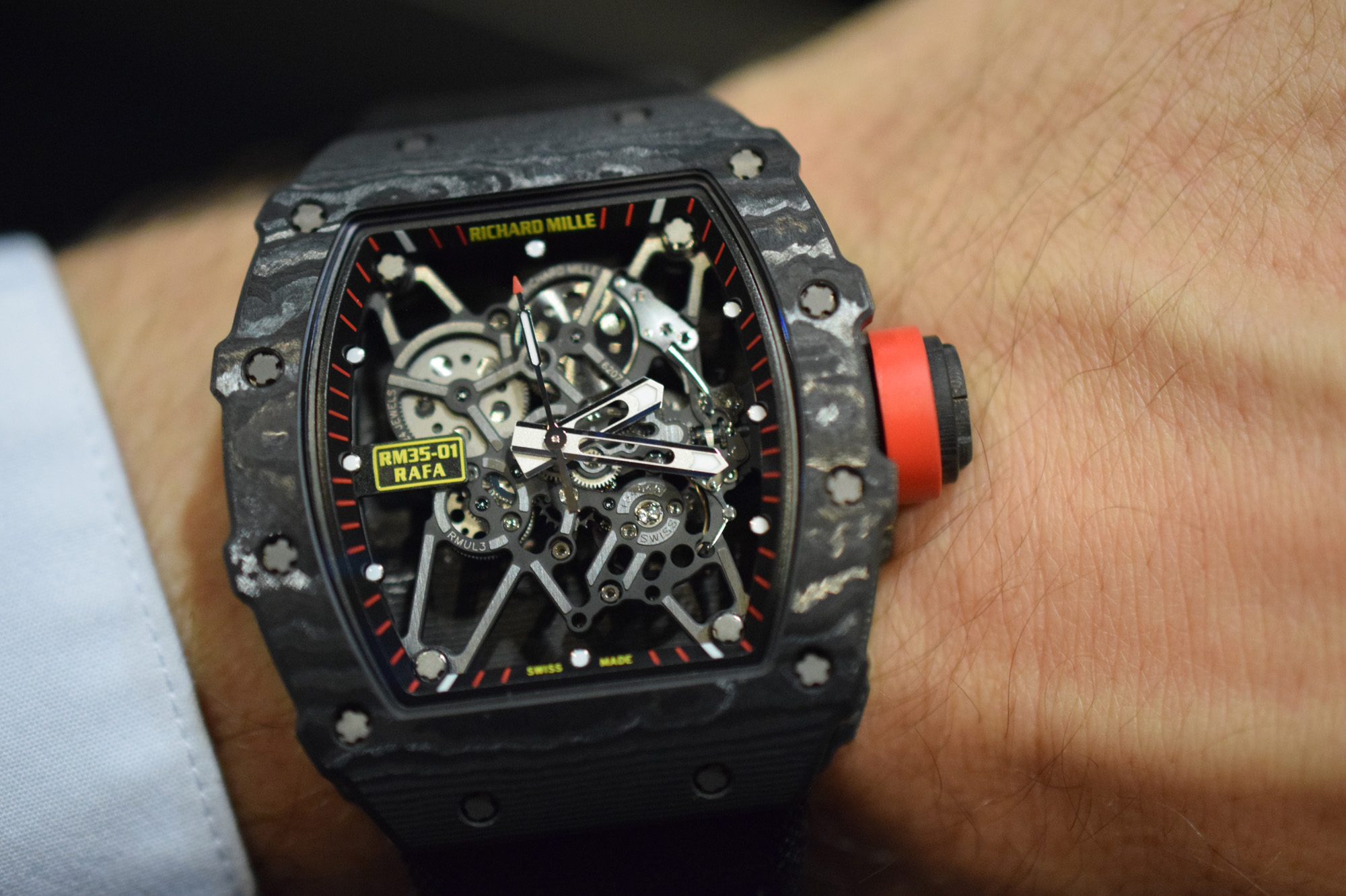 Richard Mille Rm 35 01 Baby Nadal Hands On Review