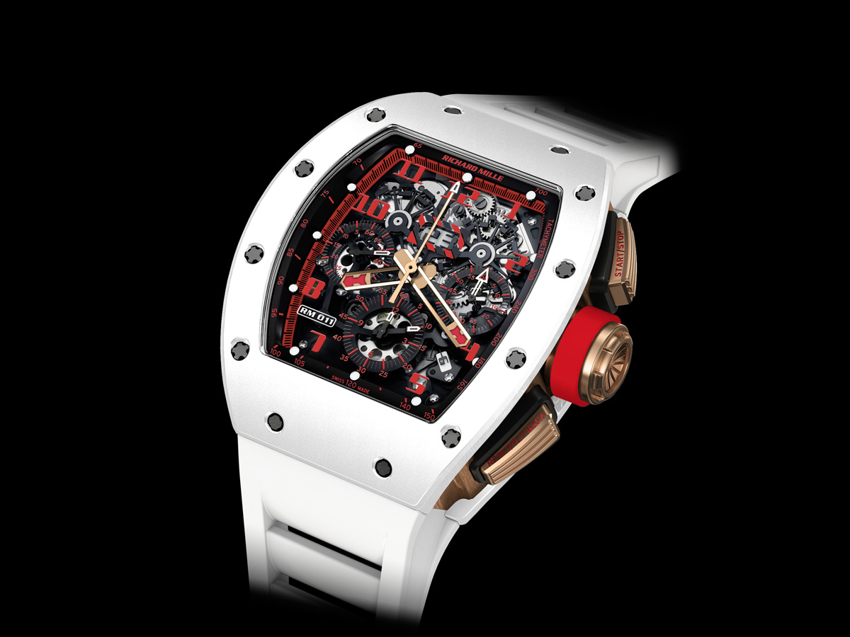 Richard Mille RM-011 White Demon