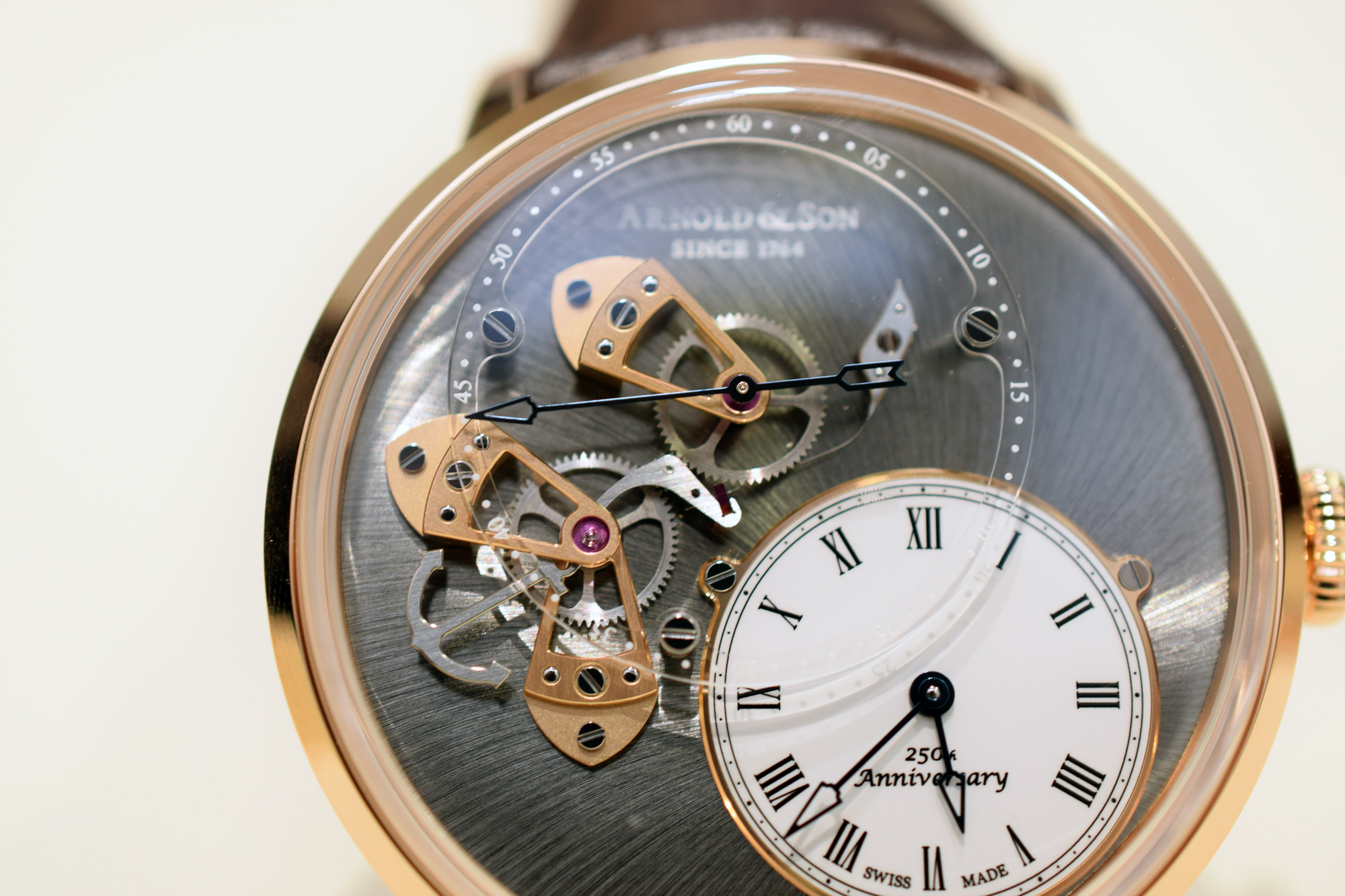 Arnold & Son Dial Side True Beat 250th Anniversary Edition - Dial