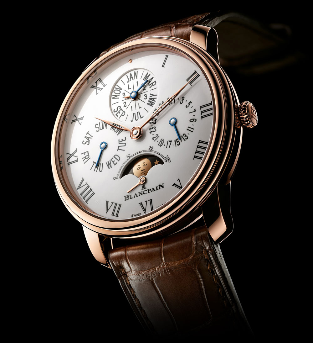Blancpain Villeret Collection 8 Day Perpetual Calendar