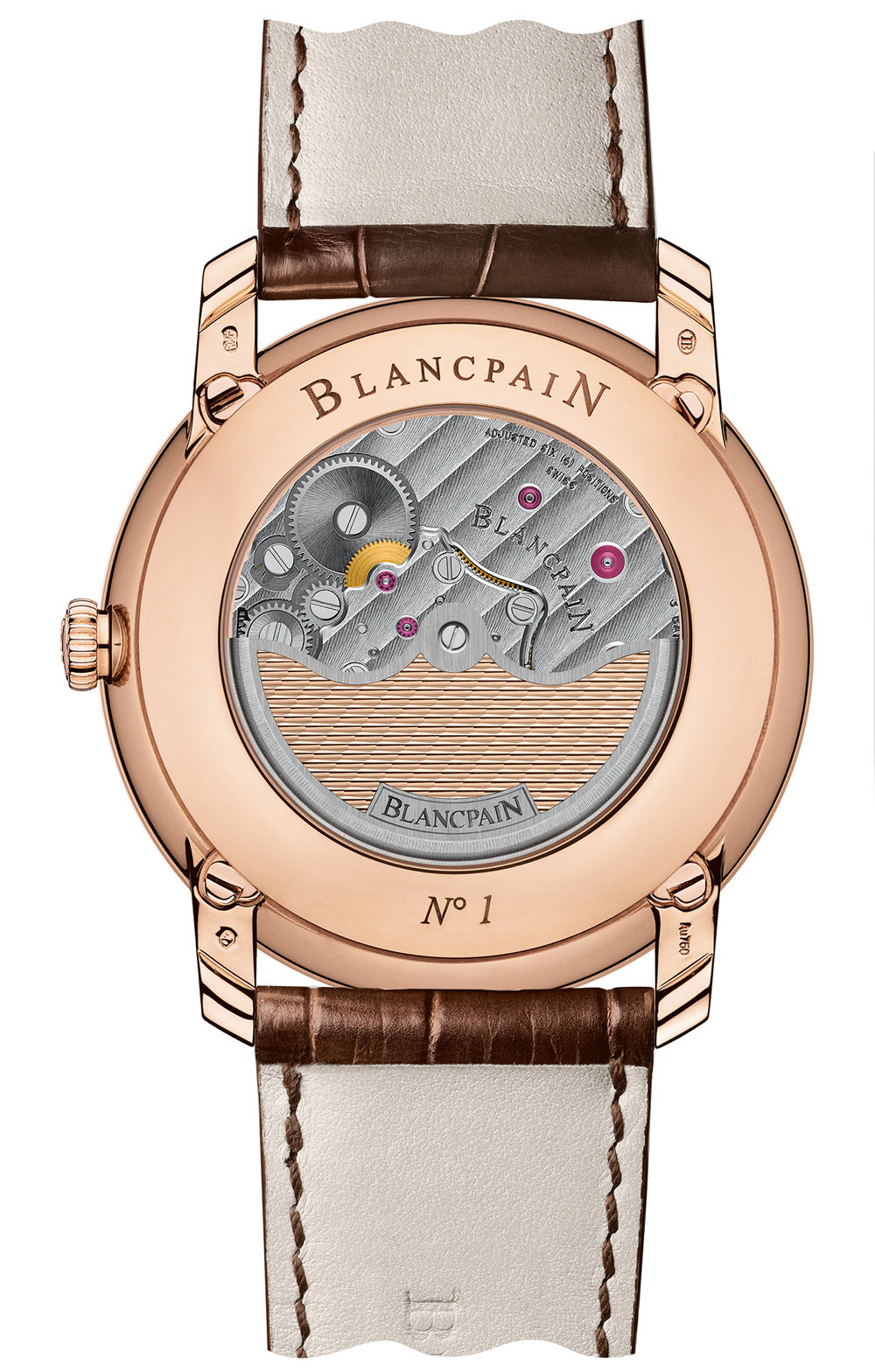 Blancpain Villeret Collection 8 Day Perpetual Calendar - Caseback