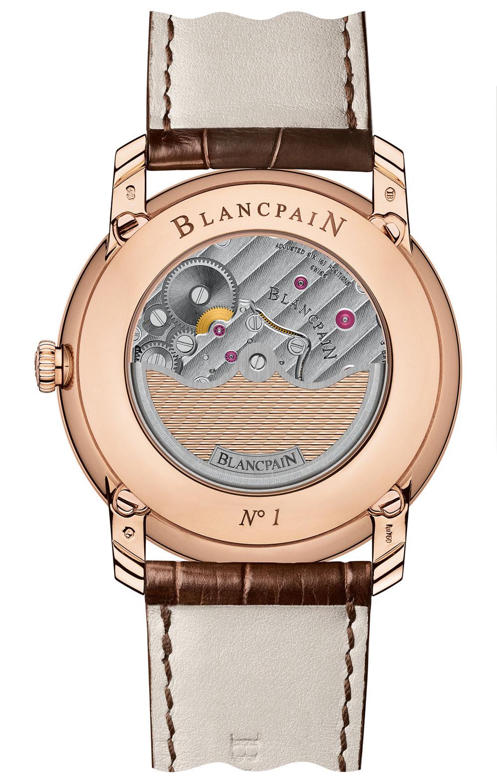 Blancpain Villeret Collection 8 Day Perpetual Calendar - Caseback