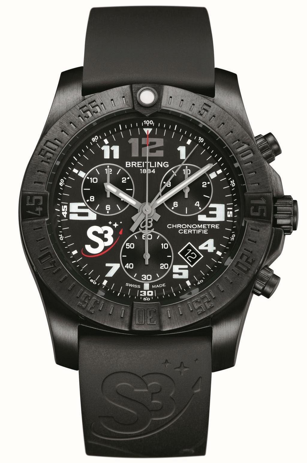 Breitling S3 ZeroG Chronograph replica watch