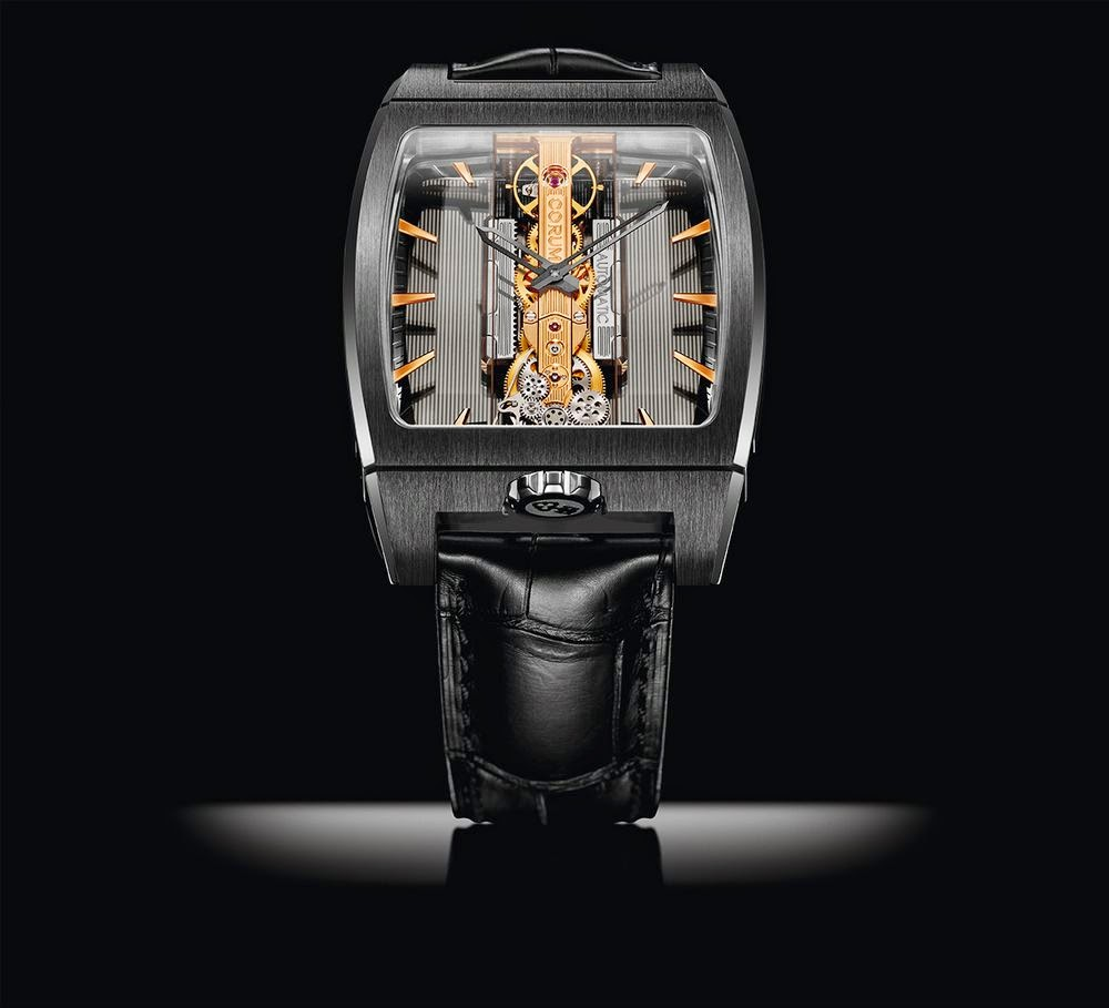 Corum Golden Bridge Titanium