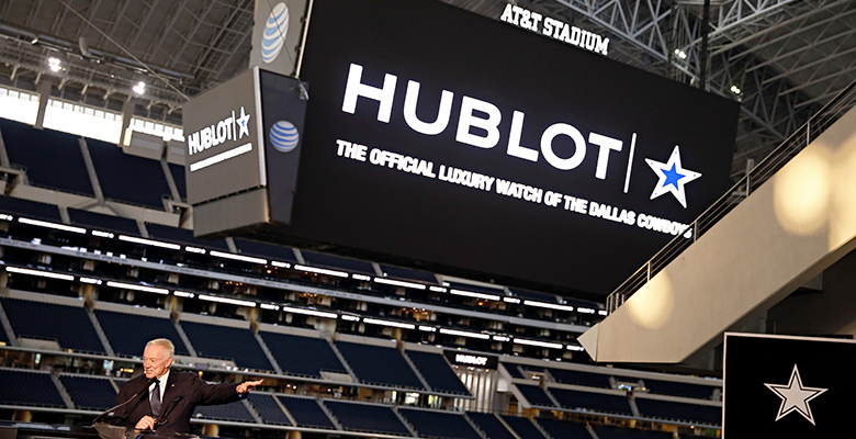 Hublot and NFL's Dallas Cowboys Kick Off a Multi-Year Partnership