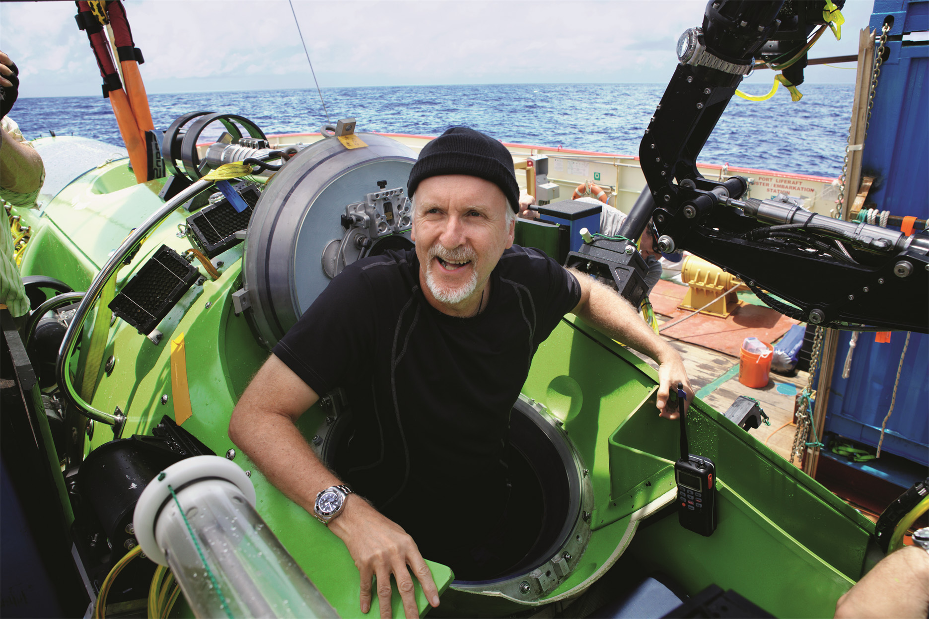 James Cameron and the Deepsea Challenger