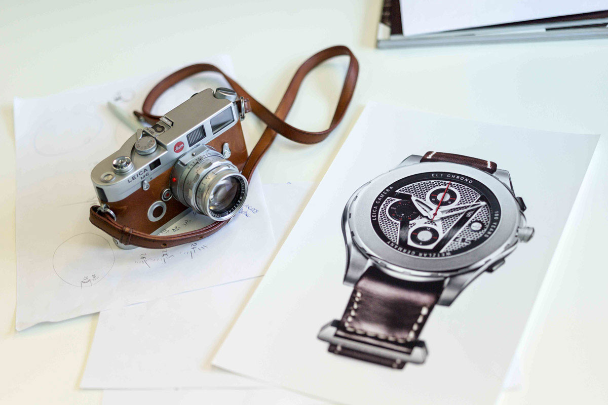Leica Camera & Valbray EL1 Chronograph Sketch