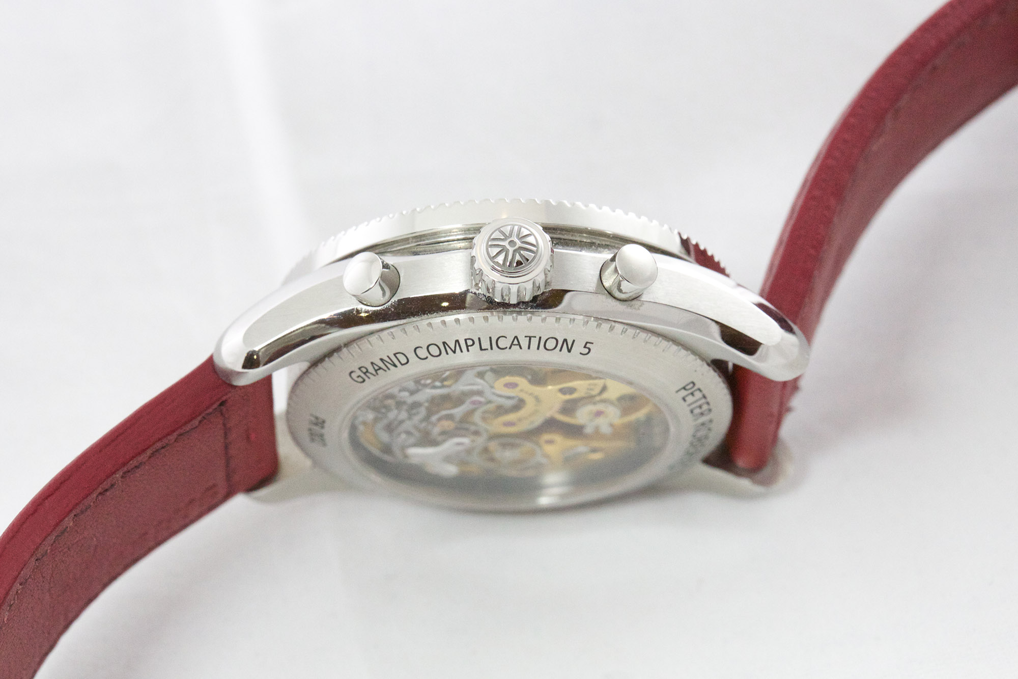 Peter Roberts Grand Complication 5 - Crown & Pusher