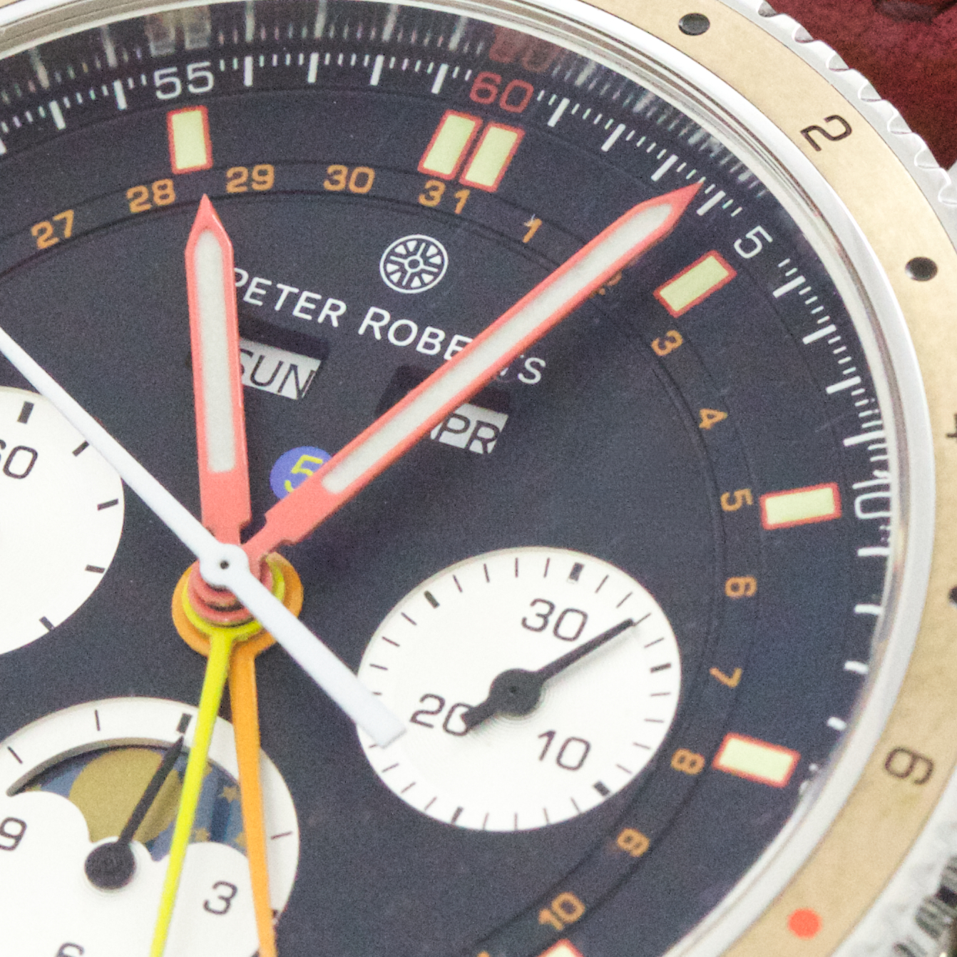 Peter Roberts Grand Complication 5 - The Dial