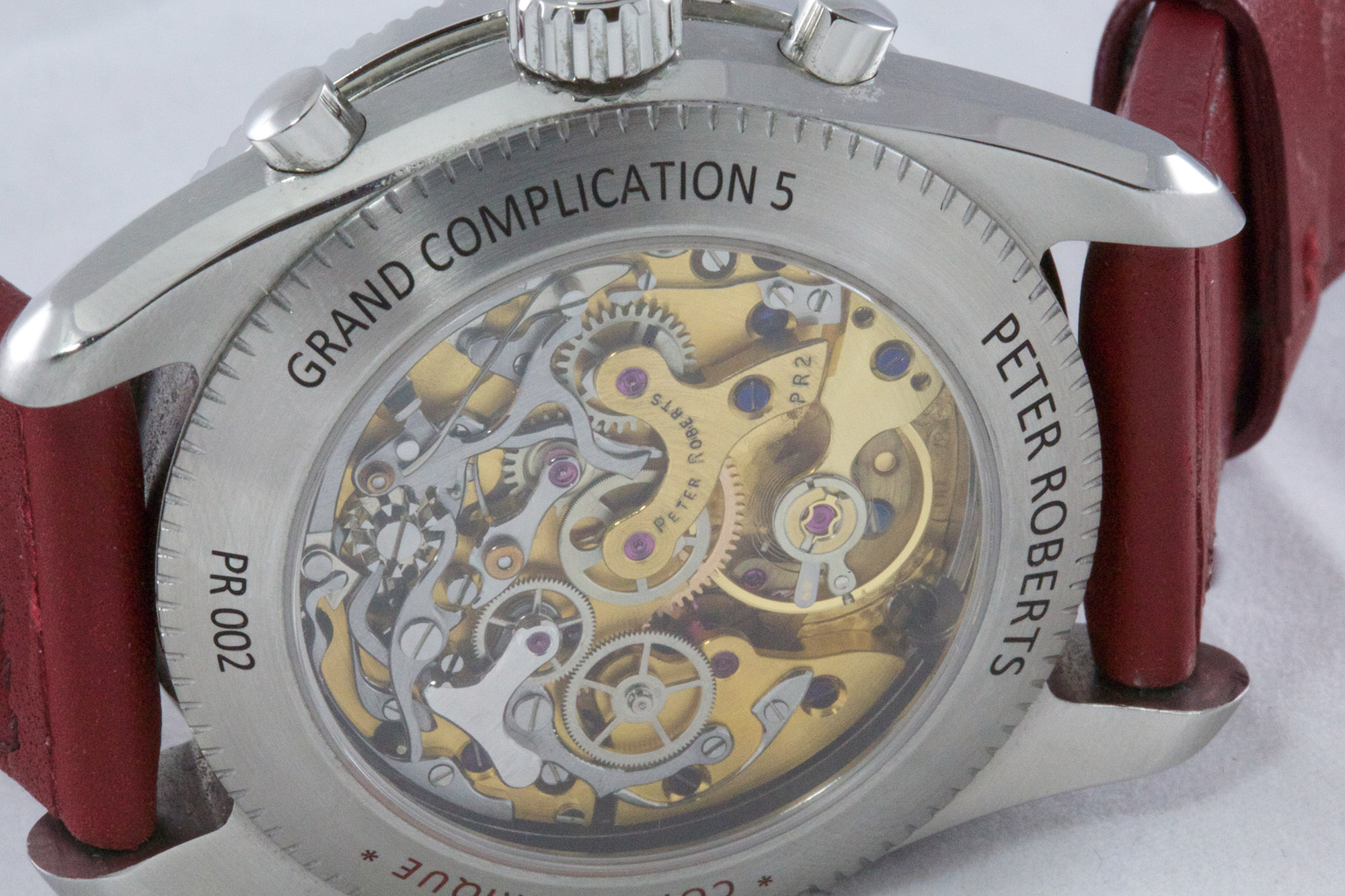Peter Roberts Grand Complication 5 - Caseback