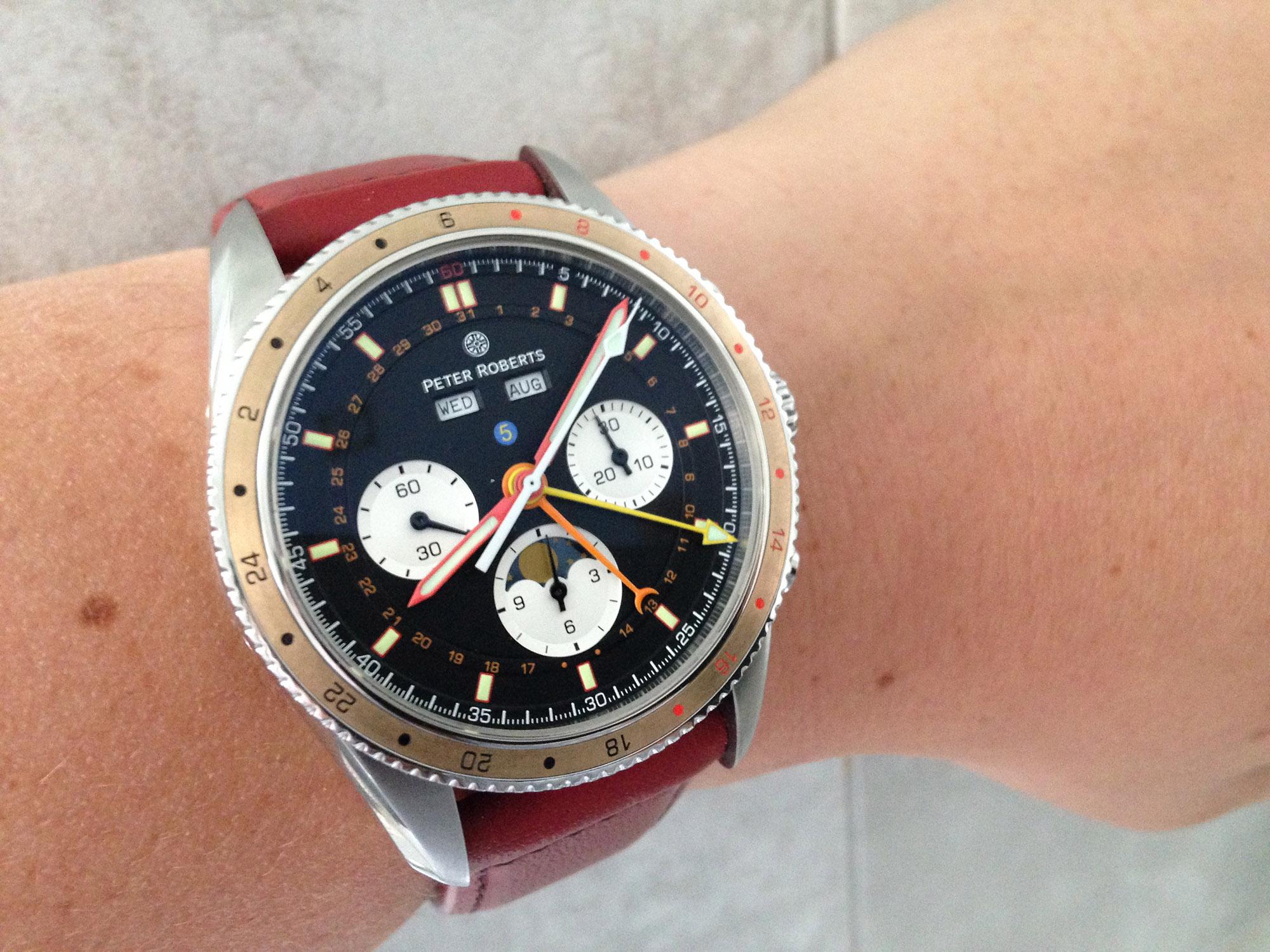 Peter Roberts Grand Complication 5 - Wristshot
