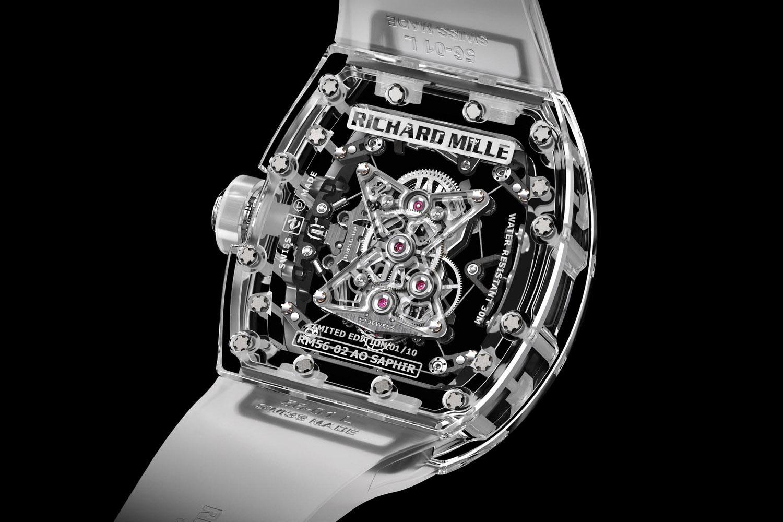 Richard Mille RM 56-02 Tourbillon Sapphire - Caseback