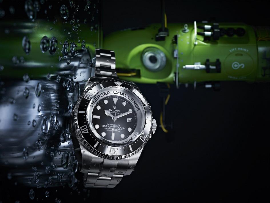 Rolex Deepsea Challenge Sea-Dweller experimental watch and the Deepsea Challenger