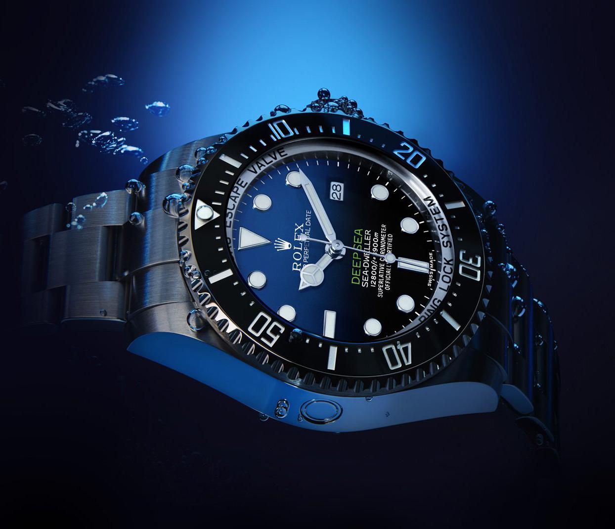 Rolex Deepsea Sea-Dweller D-Blue Dial (Ref. 116660)