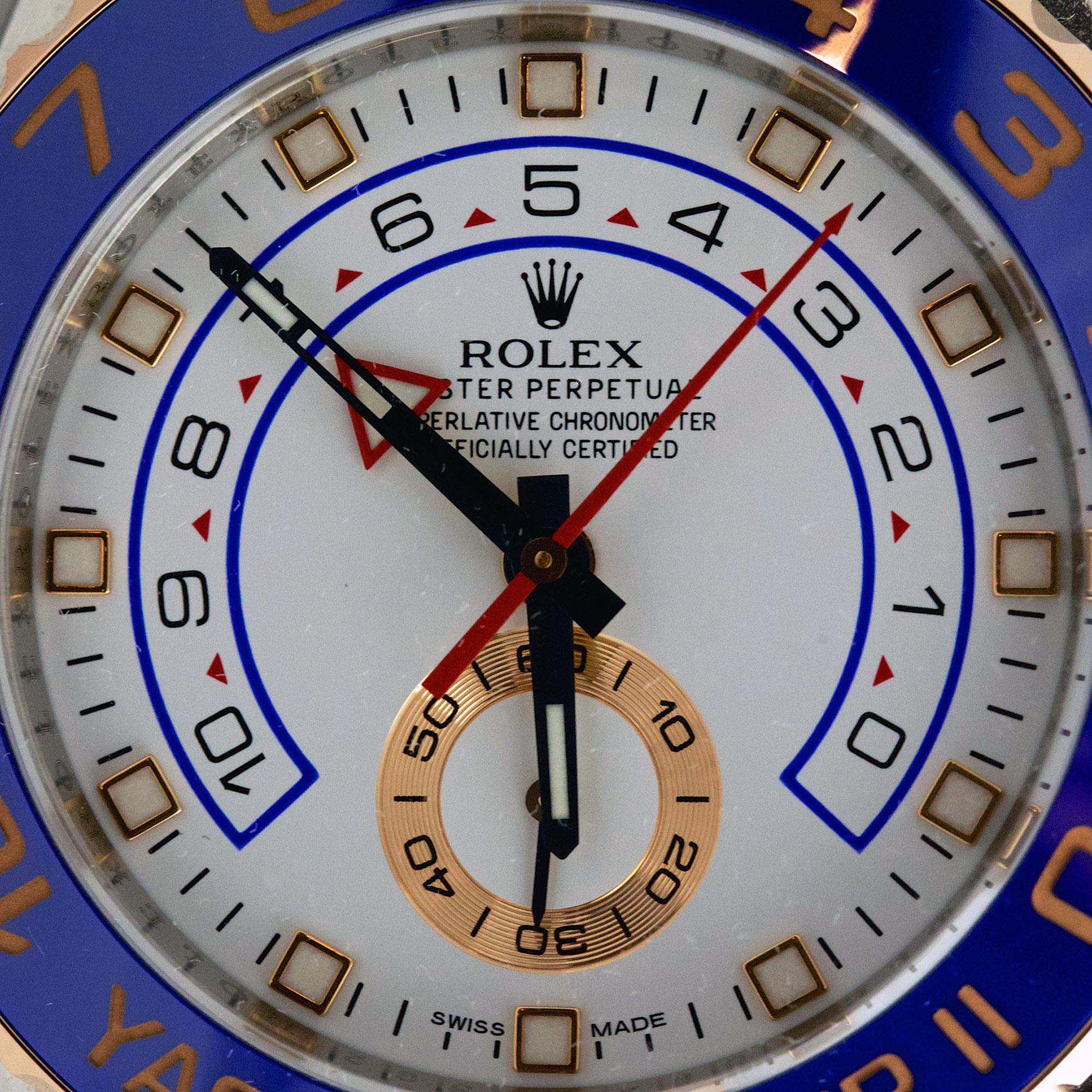 Rolex Yacht-Master II (Ref. 116681)  - Dial