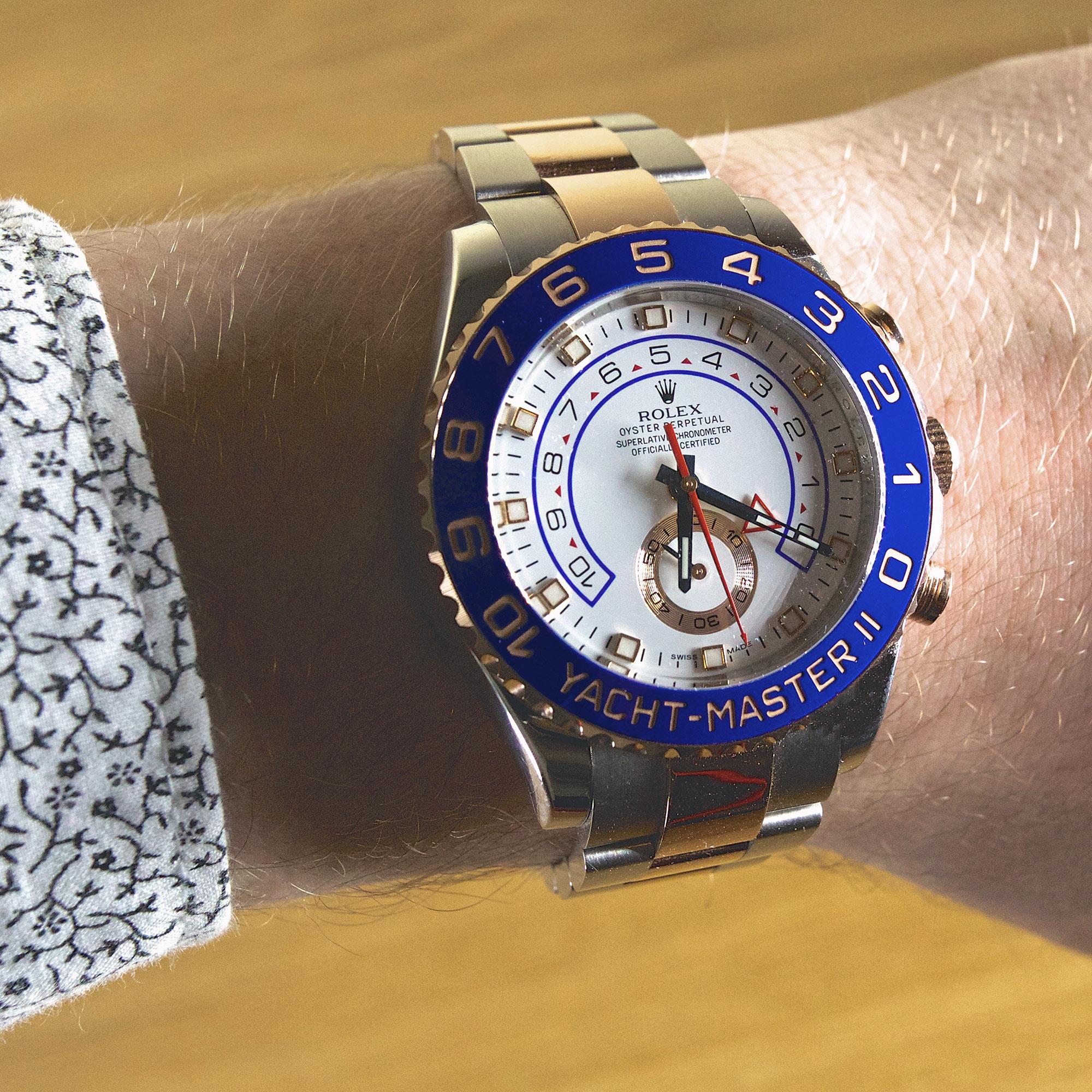 Rolex Yacht-Master II (Ref. 116681) - Wristshot