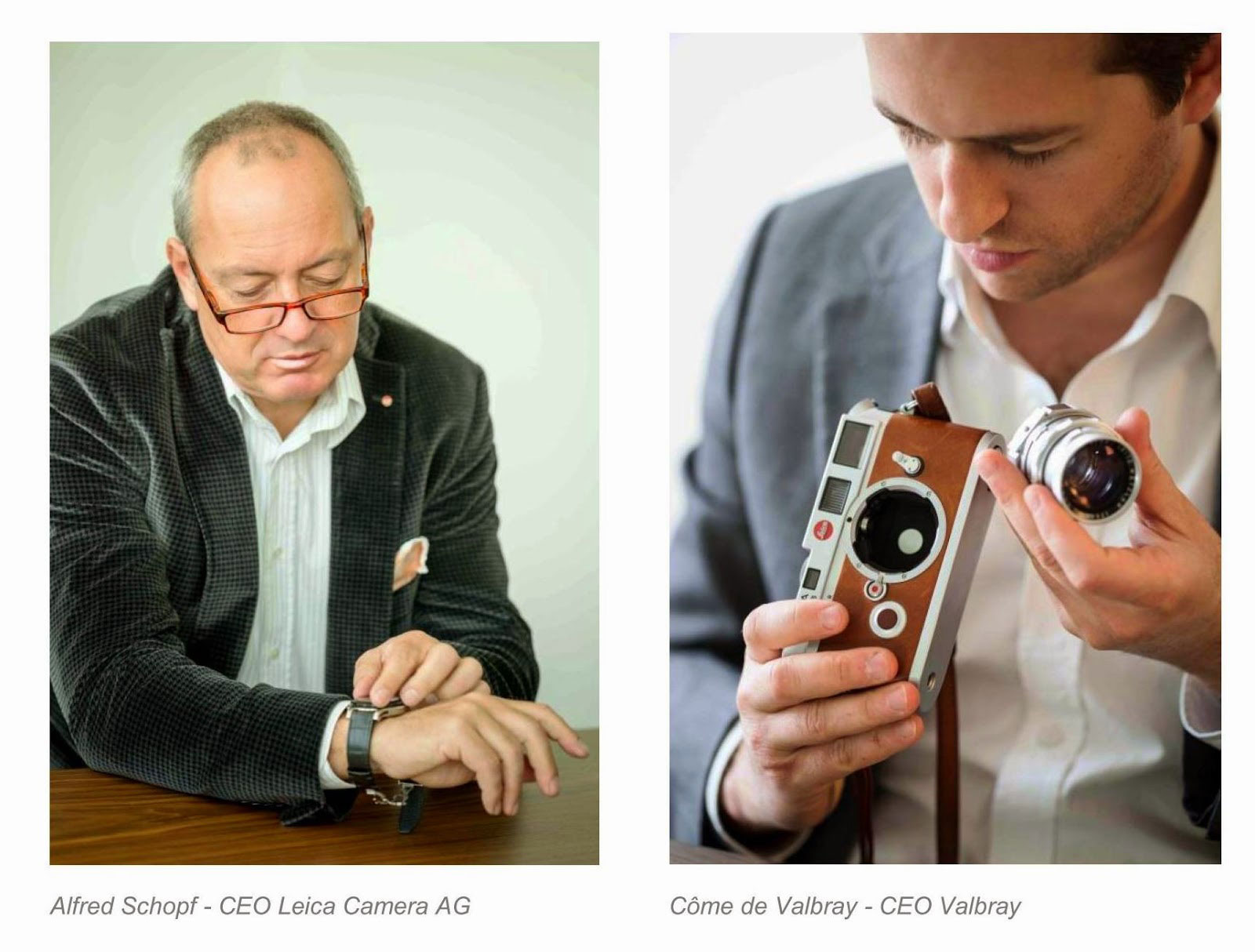 Valbray & Leica CEO