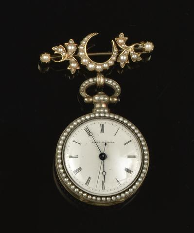 A classic Bovet timepiece, 19th century. (Source: Bonhams auction house)