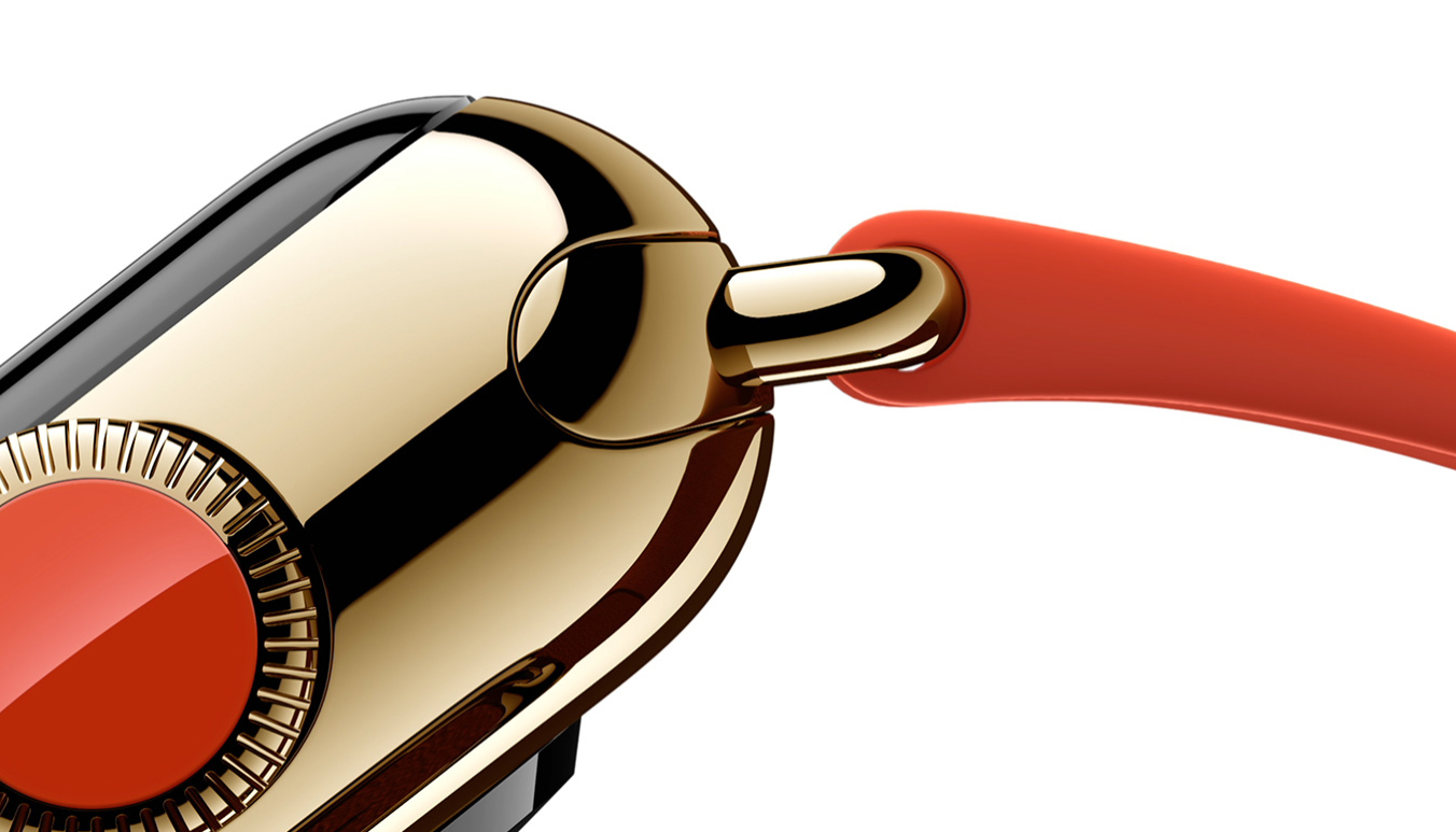 Apple Watch Edition - Digital Crown