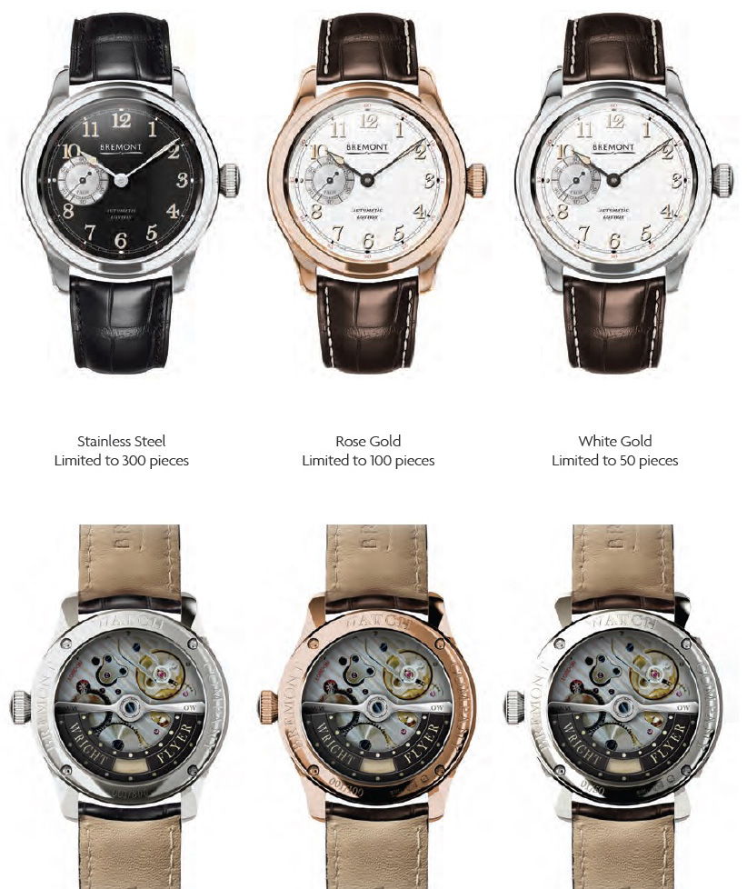 Bremont Wright Flyer Collection