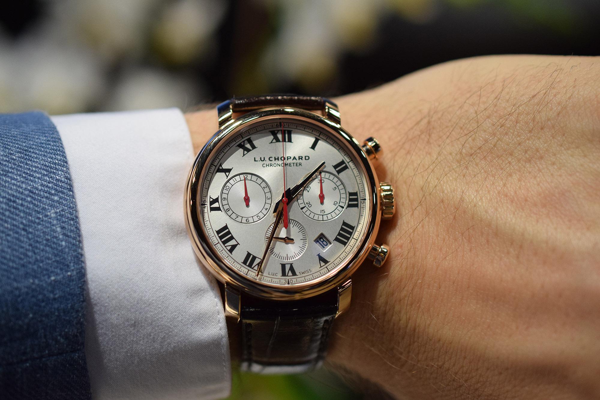 Chopard L.U.C 1963 Chronograph - Wristshot