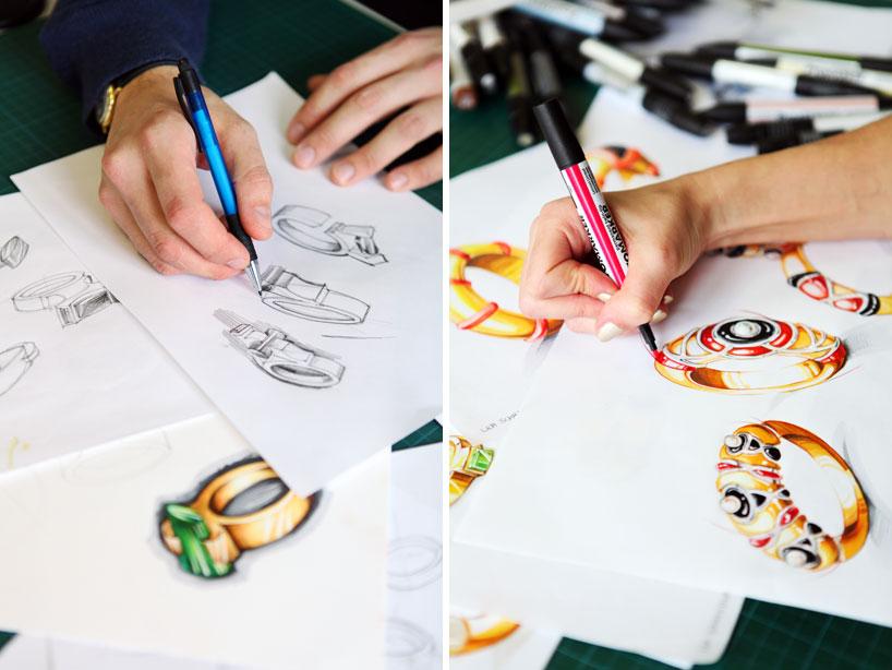 Creative Academy - Designer at work