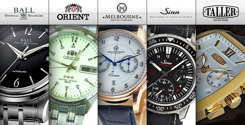 Five brands that say you know about watches